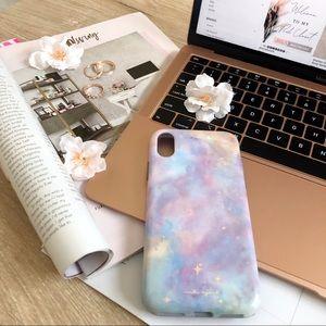 Carli Bybel Pastal Galaxy iPhone Case
